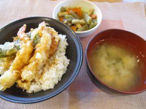 海老天丼(*^_^*)