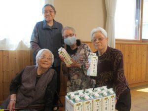 🐄市川組さんより牛乳を寄贈いただきました🐄