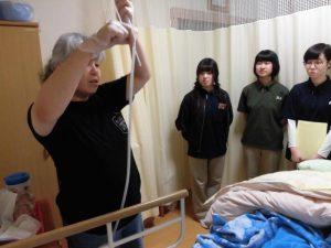 帯広大谷短期大学が見学に来てます!!