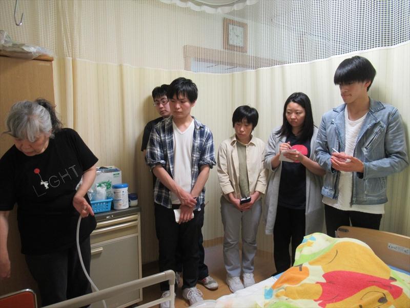 帯広大谷短期大学の学生さん達が見学に来ました!!
