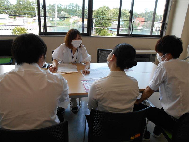 ◆帯広大谷短期大学の就職説明会に参加させて頂きました◆