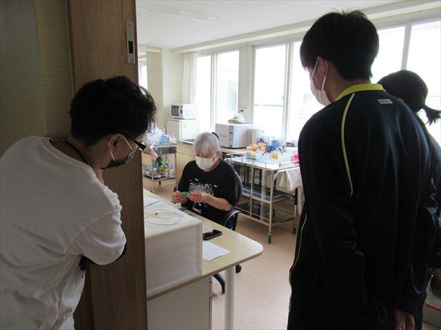 高校生ふれあい看護体験を実施しました!!